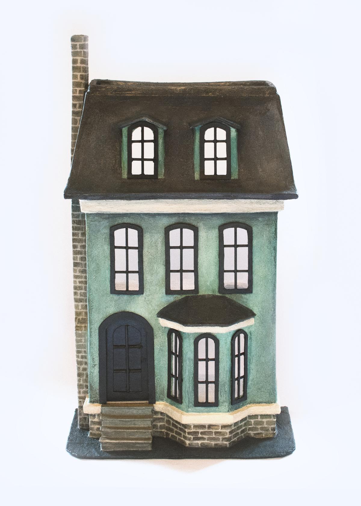 paper mache dollhouse diy (2)