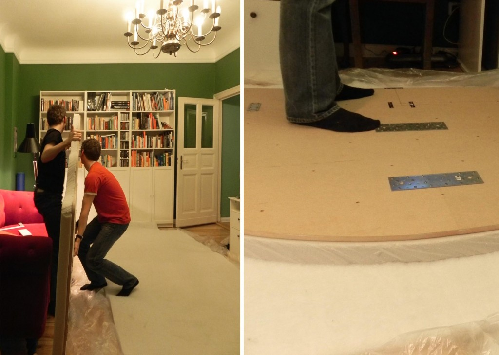 DIY headboard upholstery 1