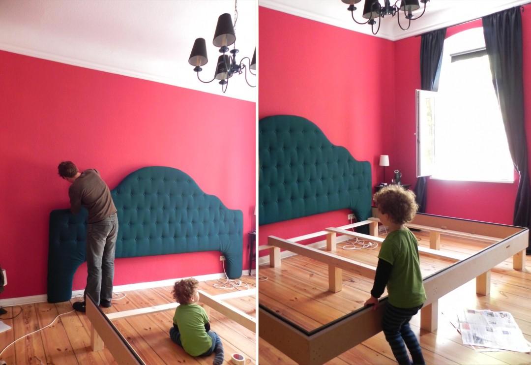 Headboard DIY mounting