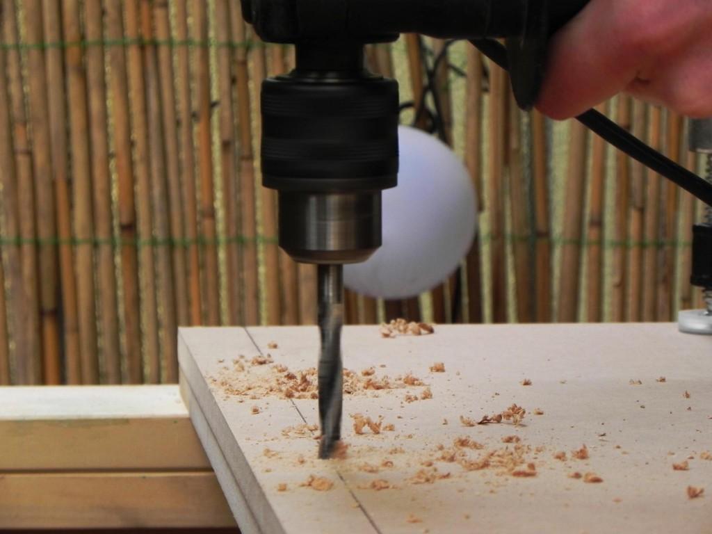 Headboard drilling