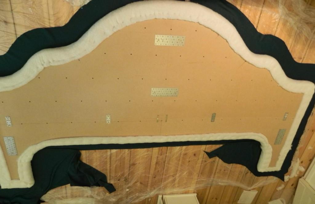 headboard DIY upholstery