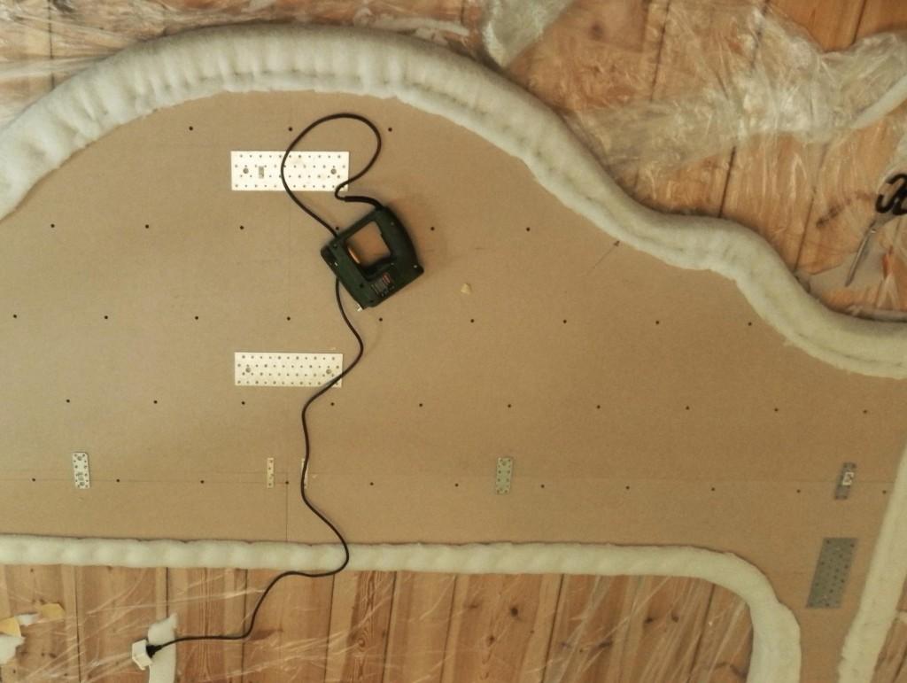 headboard DIY upholstery 3