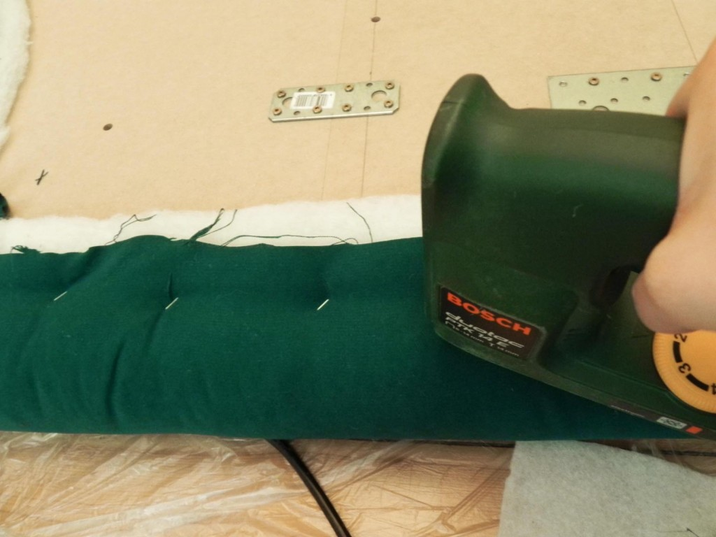 headboard DIY upholstery 4