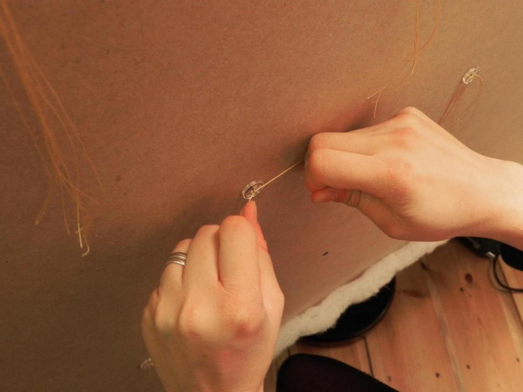 upholstery headboard DIY 2