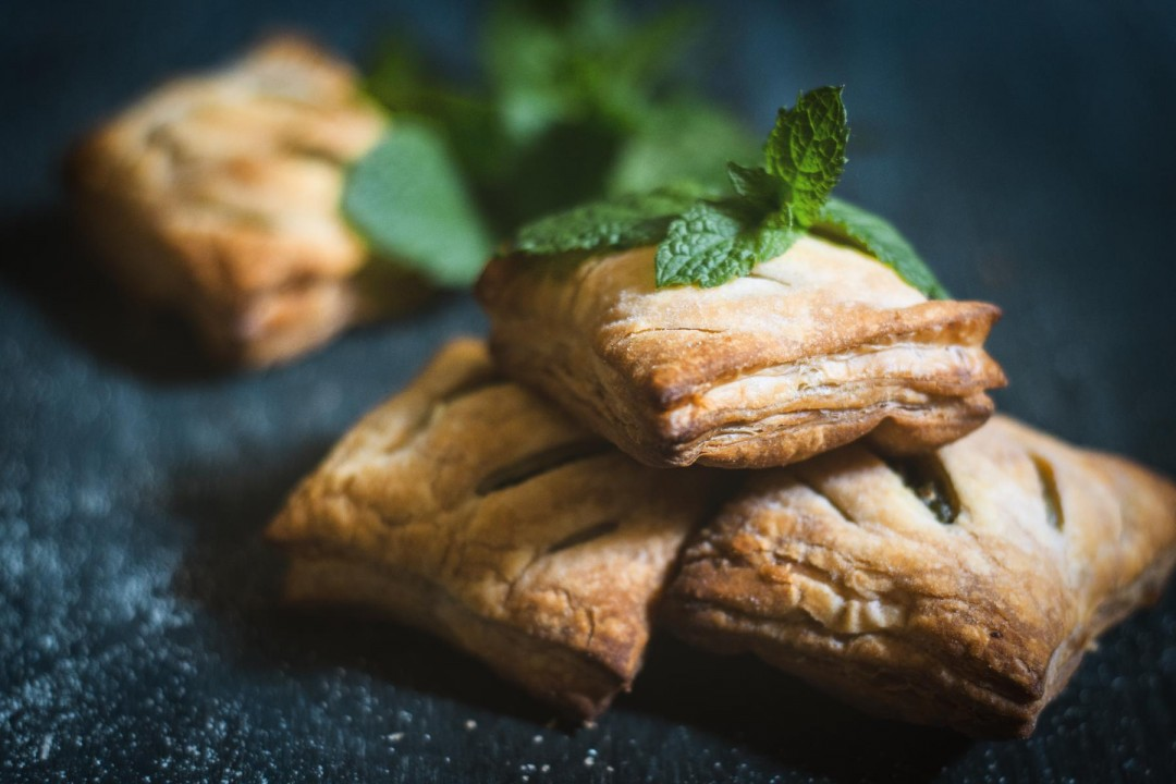 Vegan Spinach Puffs