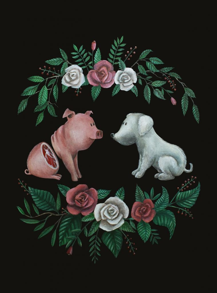 Fuck Speciesism Caroletta Artwork