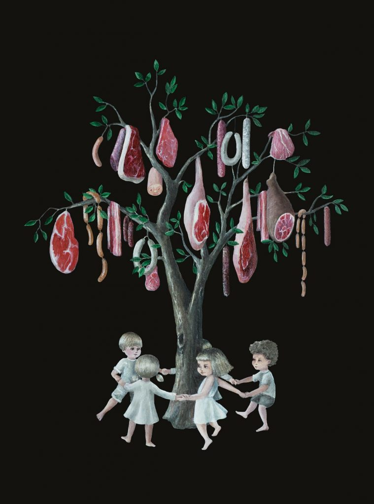 The Meat Tree Caroletta Artwork